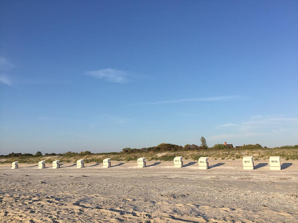 Strandkorb Verleih Vitte Hiddensee